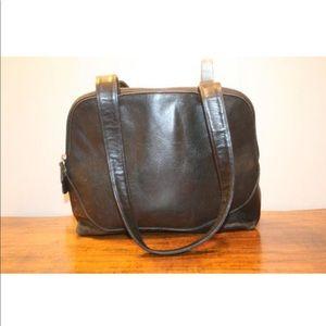 LIZA CLAIBORNE Purse,black leather purse,purse